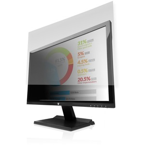 """V7 PS23.8W9A2-2E Privacy Screen Filter - For 60.5 cm (23.8"""") Widescreen LCD Monitor, Notebook - 16:9 - Scratch Resistant"""