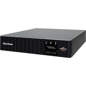 "CyberPower PR3000ERT2U Line-interactive UPS - 3 kVA/3 kW - 19"" Rack/Tower - 3 Hour Recharge - 120 V AC, 230 V AC Input - 2"