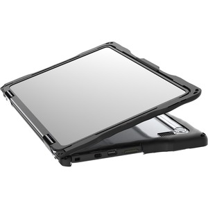 Gumdrop DropTech Dell 3100 2-in-1 Chromebook Case - For Dell Chromebook - Black - Drop Resistant, Shock Resistant - Thermo