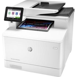HP LaserJet Pro M479fdw Kabellos - Laser-Multifunktionsdrucker - Farbe - Kopierer/Fax/Drucker/Scanner - 27 Seiten/Min. Mon