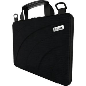 """UZBL Always-On Carrying Case for 11"""" to 11.6"""" Notebook, Chromebook, Ultrabook - Black - Drop Resistant, Shock Resistant, S"""