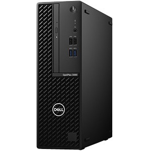 Desktop Computer Dell OptiPlex 3000 3080 - Intel Core i5 10. Generation i5-10500 Hexa-Core 3,10 GHz Prozessor - 8 GB RAM D