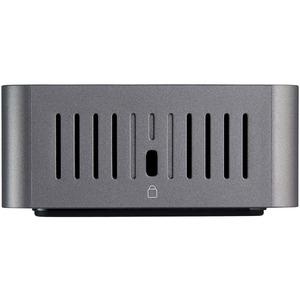StarTech.com USB-C & USB-A Dock - Hybrid Triple Monitor Laptop Docking Station DisplayPort & HDMI 4K 60Hz/85W PD/6x USB/Gb