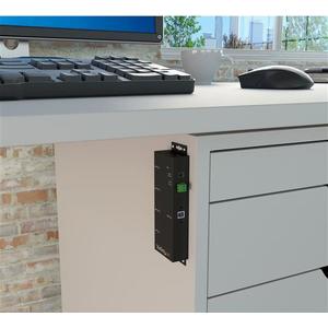 StarTech.com Montierbarer 4 Port Industrieller USB 3.0 SuperSpeed Hub - 4 Total USB Port(s) - 4 USB 3.0 Port(s) - PC
