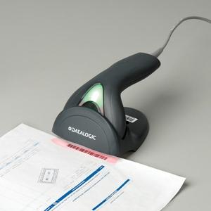 Datalogic Touch 90 Lite Library, Regierungseinrichtungen, Gewerblich, Retail Handheld Barcode-Scanner-Set - Kabel Konnekti