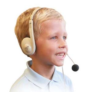 CalifoneMultimedia Stereo Headsets w/Mic Via Ergoguys - Stereo - Mini-phone (3.5mm) - Wired - Over-the-head - Binaural - C