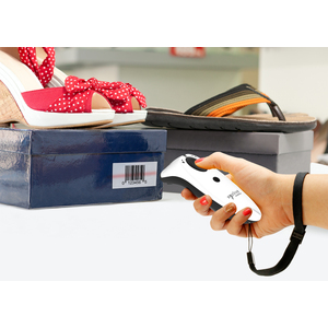 Socket Mobile SocketScan® S700, Linear Barcode Scanner, White & Black Charging Dock - Wireless Connectivity - 1D - Imager