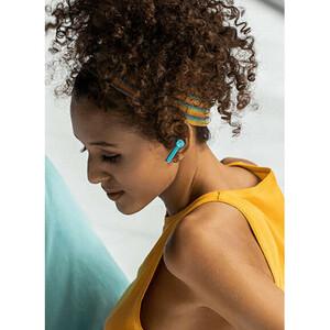 OnePlus Buds E501A True Wireless Ohrhörer Stereo Ohrhörerset - Blau - Binaural - In-Ear - 20 Hz bis 20 kHz Frequenzgang -