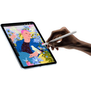 "Apple iPad Air (4th Generation) Tablet - 10.9"" - 256 GB Storage - iPadOS 14 - Silver - Apple A14 Bionic SoC - Liquid Retin"