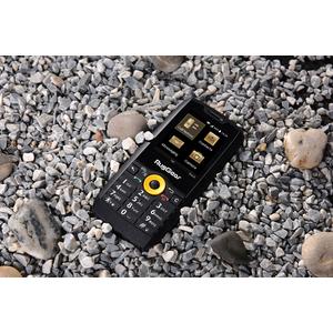 RugGear RG150 512 MB Smartphone - 6,1 cm (2,4 Zoll) - 256 MB RAM - Android 4.4.2 KitKat - 3G - Schwarz, Orange - Bar - 2 S