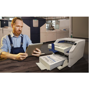 Xerox XW110-A ADF Scanner - 600 dpi Optical - 24-bit Color - 120 ppm (Mono) - 120 ppm (Color) - Duplex Scanning - USB 120