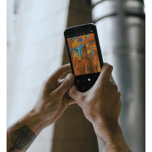 """Smartphone CAT S62 Pro 128 Go - 4G - Écran 14,5 cm (5,7"""") Active Matrix TFT LCD Full HD Plus 2160 x 1080 - Kryo 260 GoldQu"""