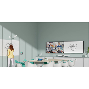 Logitech Video Conferencing Camera - 15 fps - USB - 1920 x 1080 Video - Network (RJ-45) - Monitor, Notebook - Windows