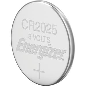Energizer 2025 Lithium Coin Battery, 2 Pack - For Multipurpose - 3 V DC - Lithium (Li) - 2 / Pack