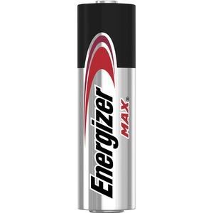 Energizer MAX Alkaline AA Batteries, 4 Pack - For Multipurpose - AA - 1.5 V DC - 1150 mAh - Alkaline - 4 / Pack BATTERY -