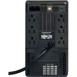 USB Port Tripp Lite OmniSmart 500VA 300W Line-Interactive UPS Tower OMNISMART500 6 Outlets 120V