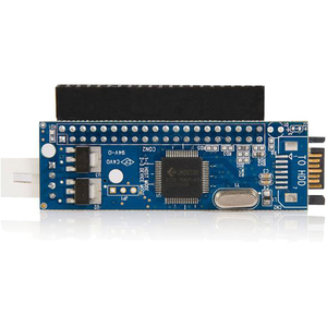 StarTech.com IDE auf SATA Adapter - IDE zu S-ATA Konverter für 2,5 und 3,5 Zoll 40 Pin Buchse - 1 x IDE Buchse, 1 x SP4 St