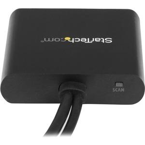 StarTech.com 2-Port Multi-Monitor-Adapter - Mini DisplayPort auf 2x DisplayPort MST Hub - Dual 4K 30Hz - 30 Hz bis 60 Hz -