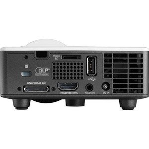 Optoma ML750ST 3D Ready DLP Projector - 16:10 - 1280 x 800 - Front - 720p - 20000 Hour Normal ModeWXGA - 20,000:1 - 800 lm