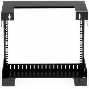 StarTech.com RK812WALLO Wandhalterung für A/V-Geräte, Netzwerk-Ausrüstung, Audio-/Video-Gerät, Patchfeld - Schwarz - TAA-k