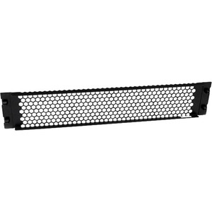 StarTech.com RKPNLTL2UV Blind-Panel - Stahl - Schwarz - 2U Rack Height - 1 Paket - 88,9 mm Höhe - 482,6 mm Breite - 15,2 m