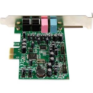 StarTech.com Soundkarte - 7.1 Klangkanäle - Intern - C-Medien - PCI Express x1 - 92 dB - S/PDIF-Ausgang