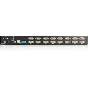 StarTech.com SV1631DUSBGB KVM-Switchbox - 16 Computer - 1 Lokaler Benutzer(n) - 1920 x 1440PS/2-Port - 1U - Rackmount
