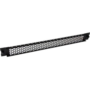 StarTech.com Blind-Panel - TAA-konform - Stahl, Plastik - Schwarz - 1U Rack Height - 1 Paket - 22,9 mm Höhe - 43,2 mm Brei