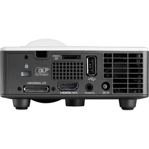 Optoma ML1050ST+ 3D Ready Short Throw DLP Projector - 16:10 - 1280 x 800 - Front - 720p - 20000 Hour Normal Mode - 30000 H