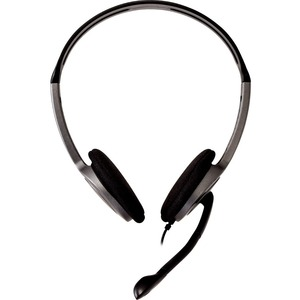 V7 Lightweight Stereo Headset with Microphone - Bulk Pack - Wired - 32 Ohm - Over-the-head - Binaural - 5.91 ft Cable - No