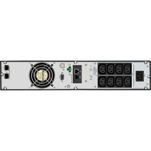 V7 UPS2URM1500DC-NC Doppelwandler Online-USV - 1,50 kVA/1,50 kW - 2U Rack/Turm - AVR - 3 Stunde(n) Recharge - 2,90 Minute(