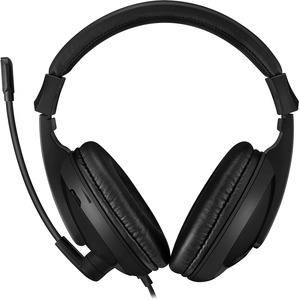 Adesso Xtream H5U - USB Stereo Headset with Microphone - Noise Cancelling - Wired- Lightweight - Works with Computer, Tabl