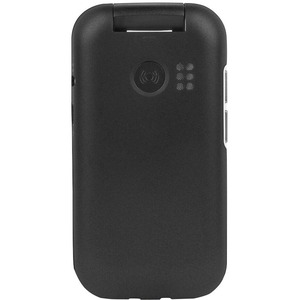 Doro 7030 Feature Phone - QVGA 320 x 240 - 4G - Black - Flip - MediaTek MT6731V/ZA SoC - 2 SIM Support - SIM-free - Rear C