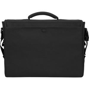 """Lenovo - Open Source Essential Carrying Case (Messenger) for 15.6"""" Lenovo Notebook - Black - Water Resistant - Nylon, Poly"""