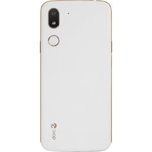 Doro 8080 32 GB Smartphone - 14,5 cm (5,7 Zoll) HD 720 x 1440 - 2 GHz - 3 GB RAM - 4G - Weiß - Bar - 1 SIM Support - kein