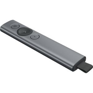 Logitech Spotlight Kabellos Universalfernbedienung - für Notebook, PC - Bluetooth - 30 m Operating Distance - Lithium-Poly