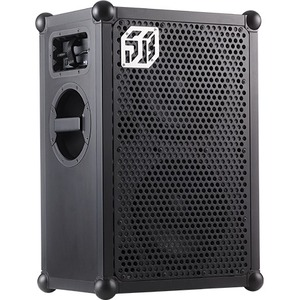 SOUNDBOKS Portable Bluetooth Speaker System - Black - 40 Hz to 20 kHz - Crystal Sound - Battery Rechargeable BATTERY-POWER