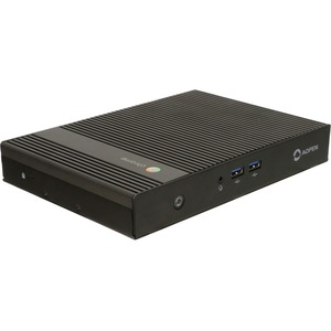 AOpen Chromebox Commercial 2 Chromebox - Intel Celeron 3865U - 4 GB RAM DDR4 SDRAM - 32 GB SSD - Small Form Factor - Black