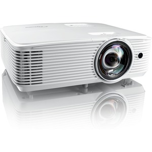 Optoma EH412ST 3D Short Throw DLP Projector - 16:9 - 1920 x 1080 - Front, Ceiling - 1080p - 4000 Hour Normal Mode - 10000