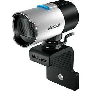 Microsoft LifeCam Webcam - 30 fps - USB 2.0 - 5 Megapixel Interpolated - 1920 x 1080 Video - CMOS Sensor - Auto-focus - Mi