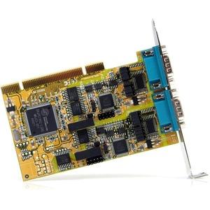 StarTech.com 2 Port RS232/422/485 PCI Seriell Schnittstellenkarte mit ESD-Schutz - Universal PCI - PC - 2 x Anzahl externe