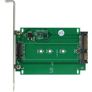 StarTech.com M.2 auf SATA Adapter - NGFF zu SSD Konverter zur Erweiterungssteckplatz Montage
