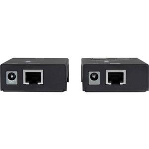 StarTech.com 4 Port USB 2.0-Over-Cat5-or-Cat6 Extender - up to 165ft (50m) - 4 x USB - 50.29 m Extended Range - Steel