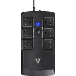 V7 UPS1DT750-1K Standby UPS - 750 VA - Desktop - 230 V AC Input - 6 x UK