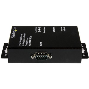 StarTech.com Device Server - TAA-konform - Verdrilltes - 1 x Netzwerk (RJ-45) - 1 x Serielle Schnittstelle - 10/100Base-TX
