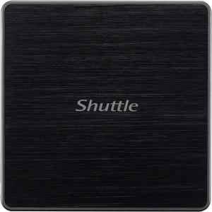 Shuttle XPC nano NC03U3 Barebone System - Mini PC - Intel Core i3 7th Gen i3-7100U - DDR4 SDRAM Maximum RAM Support - Inte
