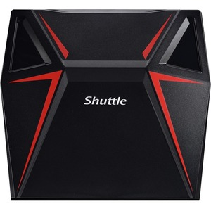 Shuttle XPC nano X1 Desktop Computer - Intel Core i5 7th Gen i5-7300HQ 2.50 GHz - 8 GB RAM DDR4 SDRAM - 1 TB HDD - 128 GB