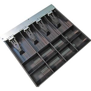 APG Cash DrawerBargeldfächer - 4 Rechnung/8 Münze Fäch(er)