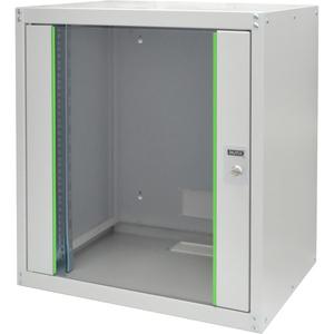 Digitus 12HE Wandgehäuse, Dynamic Basic 638,40x600x450 mm, Farbe Grau (RAL 7035). Rack-Kapazität: 12U, Typ: Wandmontiertes