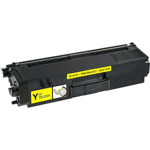 V7 Remanufactured High Yield Yellow Toner Cartridge for Brother TN315 - 3500 page yield - Laser - High Yield - 3500 Pages